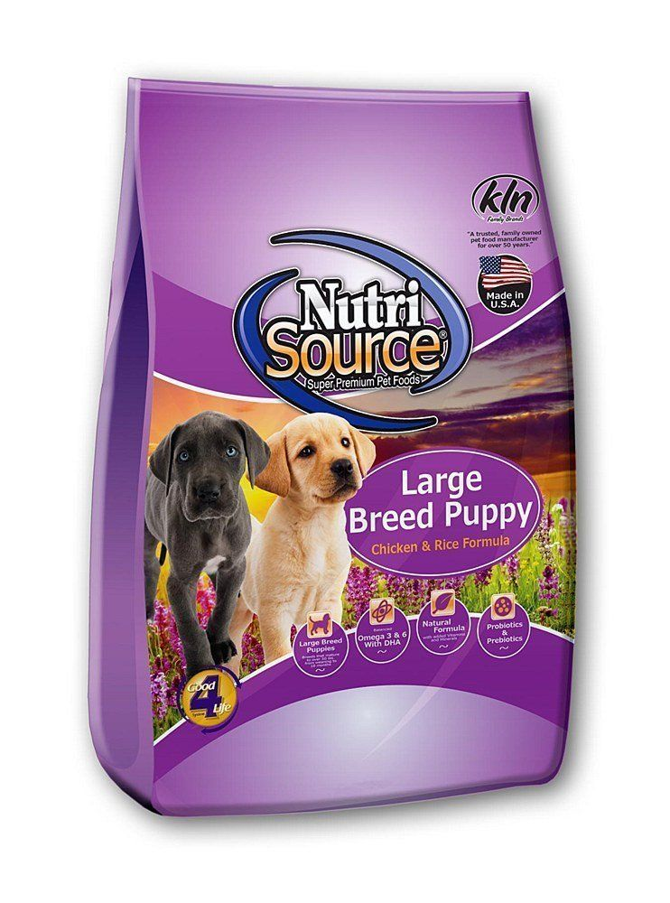 NutriSource Large Breed Puppy Chicken and Rice Formula Dry