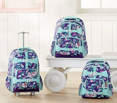 de658aa17ed1 Mackenzie Purple Flower Bouquet Backpack  pbkids
