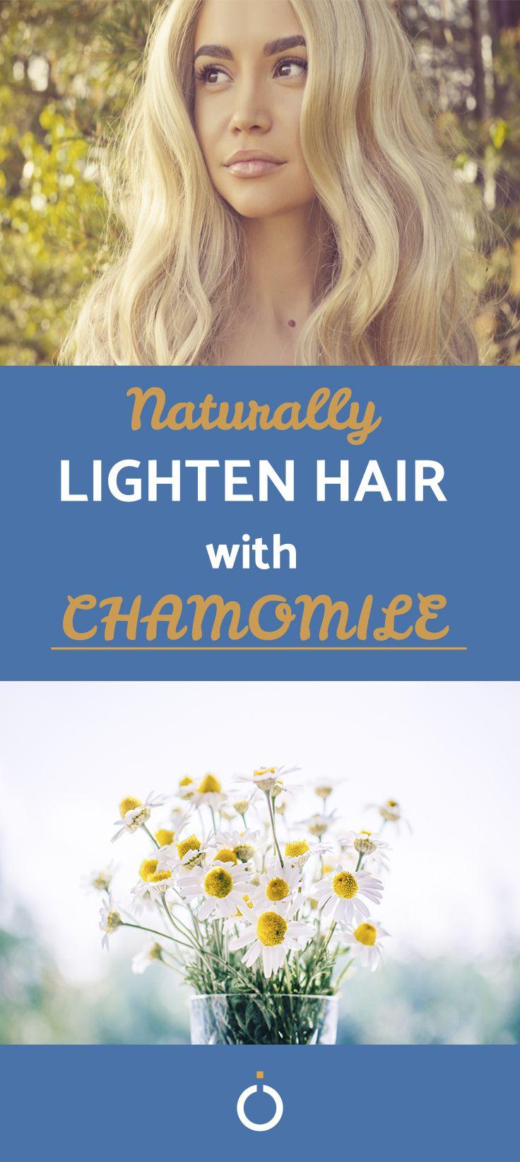 How to lighten hair with chamomile tea lighten hair