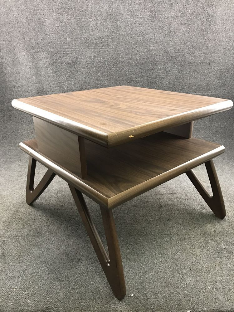 4d211745aca4 Mid Century Danish Modern Adrian Pearsall Style Two Tier End Table  74.99   MidCenturyModern  AdrianPearsall