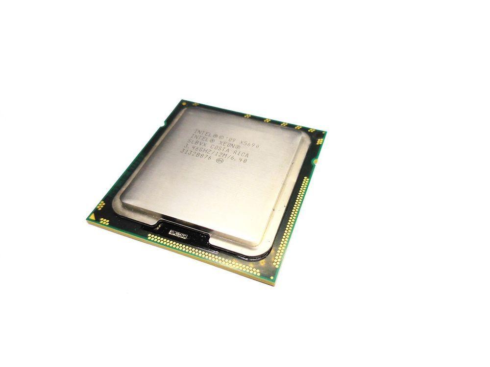 Intel Xeon X5690 SLBVX LGA 1366 3.46 GHz 6.4 GT//s Six-Core CPU Processor