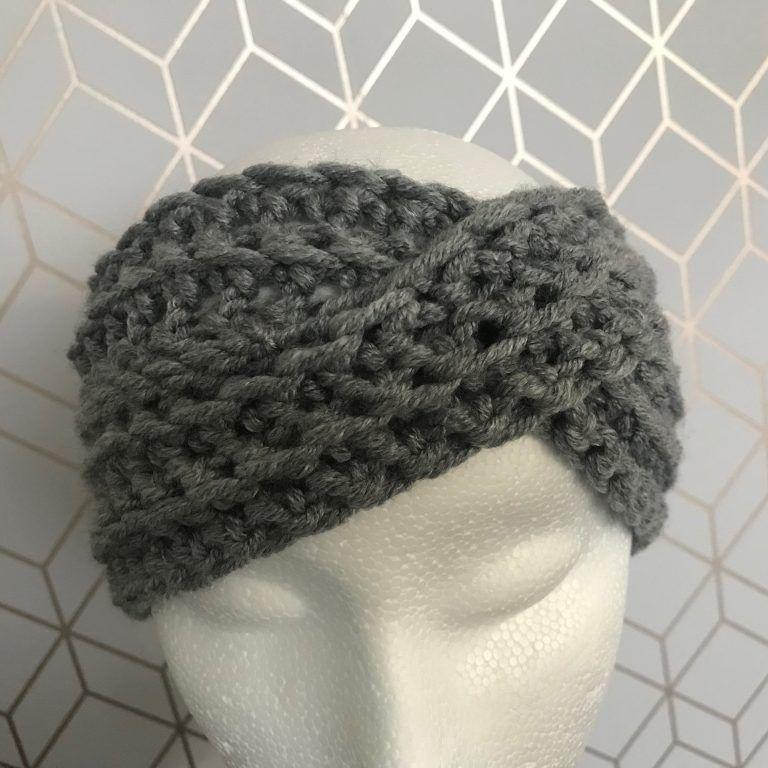 Boho twist, warm winter headband by hadley paige designs ...