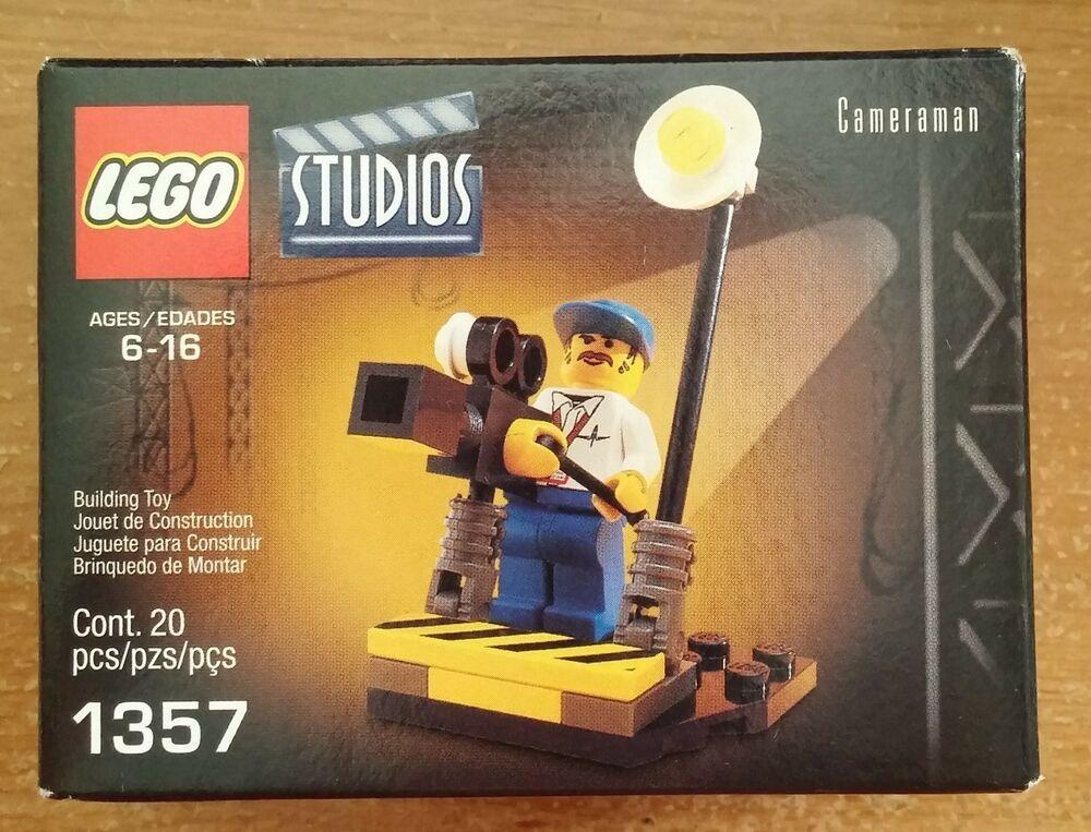 Lego Studios Cameraman 1357  New In Factory Sealed Box