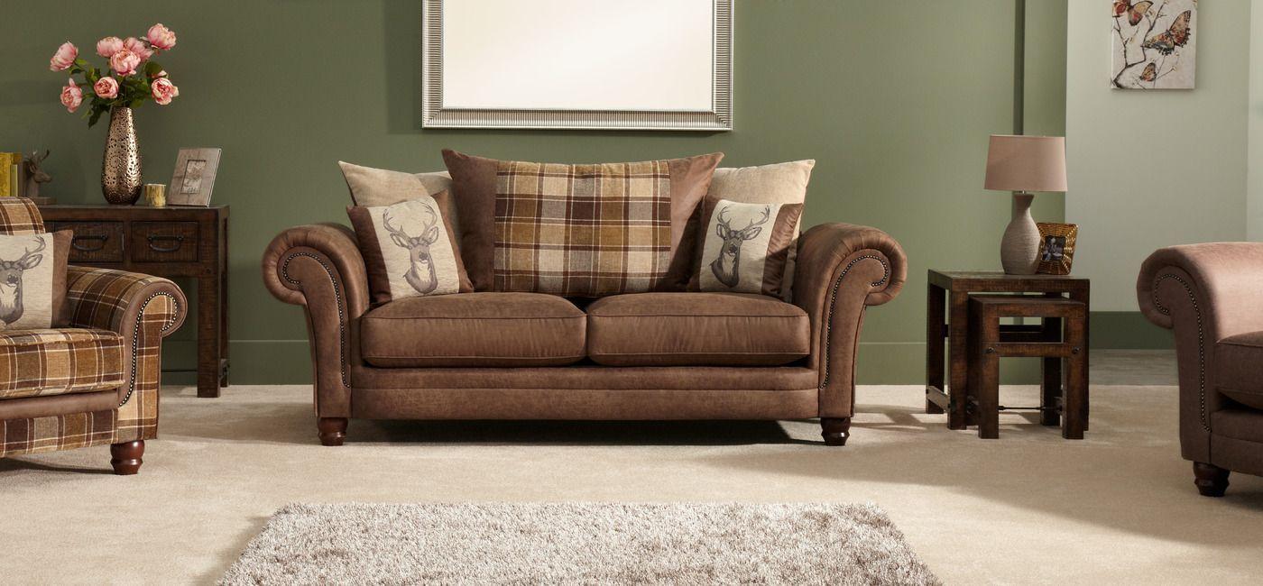 Sofa BedSleeper Sofa Abbey Seater Sofa Scatter Back