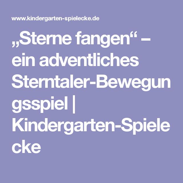 Sterne Fangen Ein Adventliches Sterntaler Bewegungsspiel Kindergarten Spielecke Bewegungsspiele Kindergarten Sterntaler Marchen Bewegungsspiele