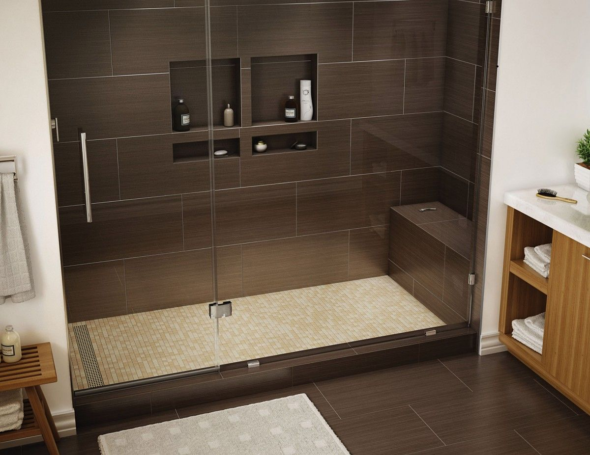 Redi Bench Shower Seat 27 L X 12 D X 12 H Installed Height 17