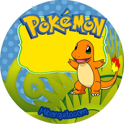 candy bar pokemon - stickers pokemon personajes - imprimibles ...