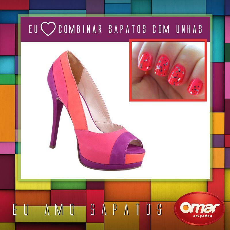 #TuttiFrutti #hotpink #glam #nails