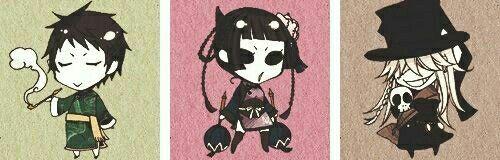 Black Butler ~~ Lau, Ran-mao, & Undertaker