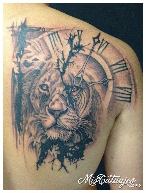 Tatuajes De Leones 4 Tattoo Tatuajes De Animales Tatuajes De