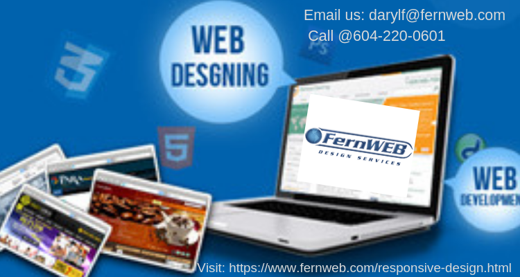Fern Web Design Services Is A Vancouver Based Web Design Company Specializing In Affordable Responsive Web Design Responsive Website Design Web Design Company