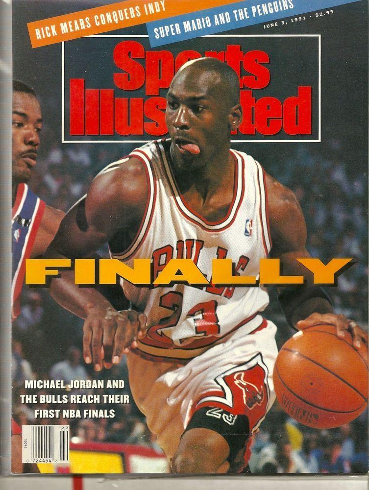 SOLD June 3, 1991 MICHAEL JORDAN Sports Illustrated