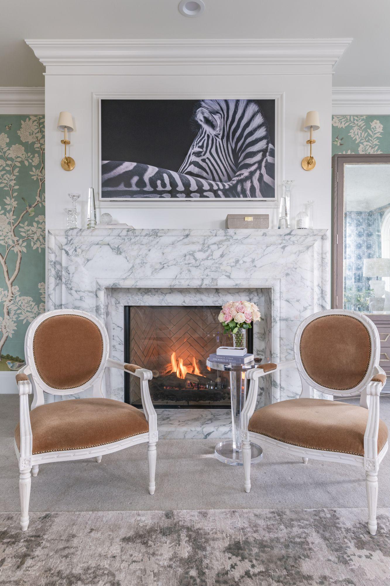 Best Master Bedroom Reveal Home Fireplace Master Bedroom 400 x 300