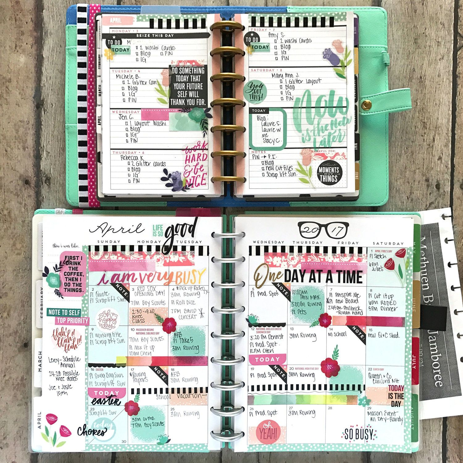 Happy planner mini weekly classic monthly pages of for Wohnungseinrichtung planer