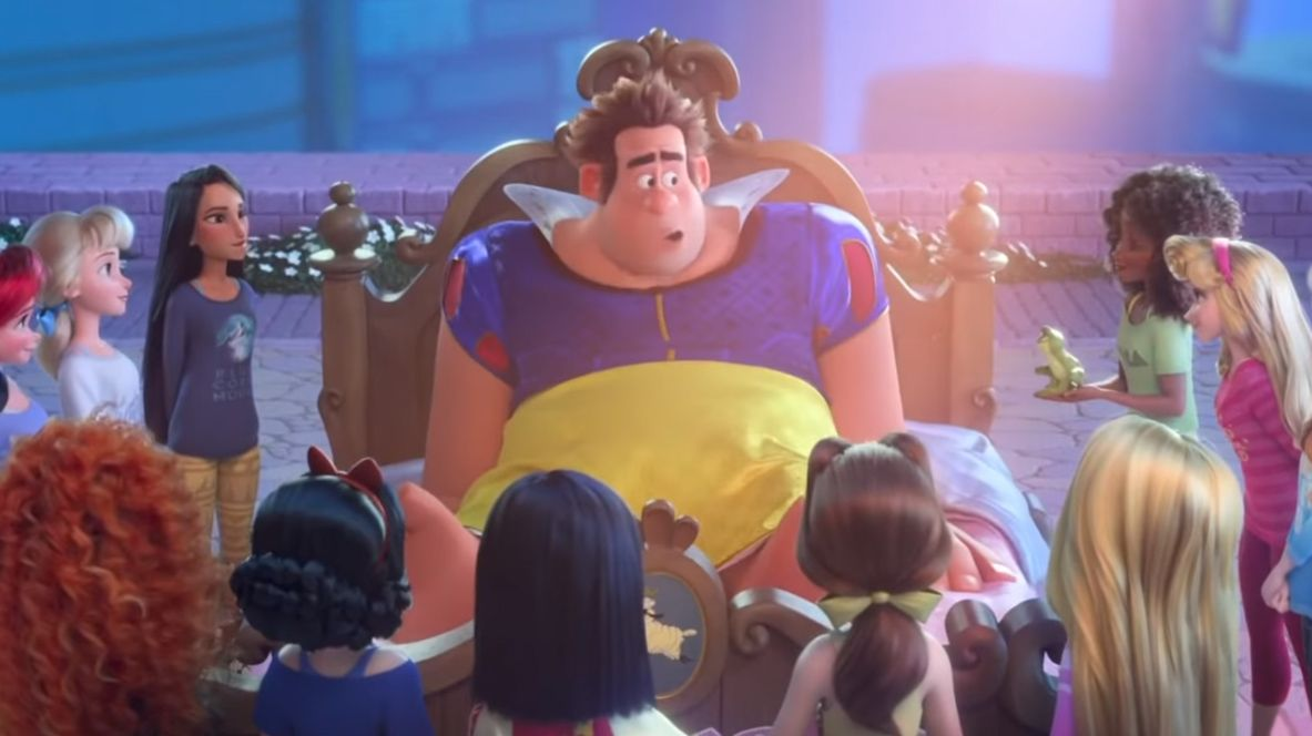 Wreck It Ralph 2 Disney Princesses Save Ralph Full Scene All Disney Princesses Sailor Princess Disney Kingdom
