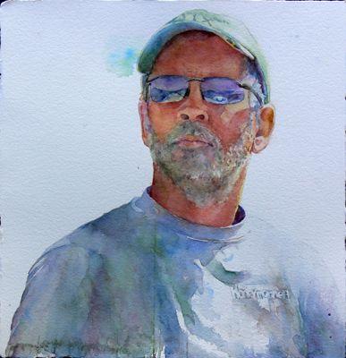 Online Gallery For Watercolor Artist Kim Johnson Nechtman Watercolor Portraits Watercolor Portrait Art