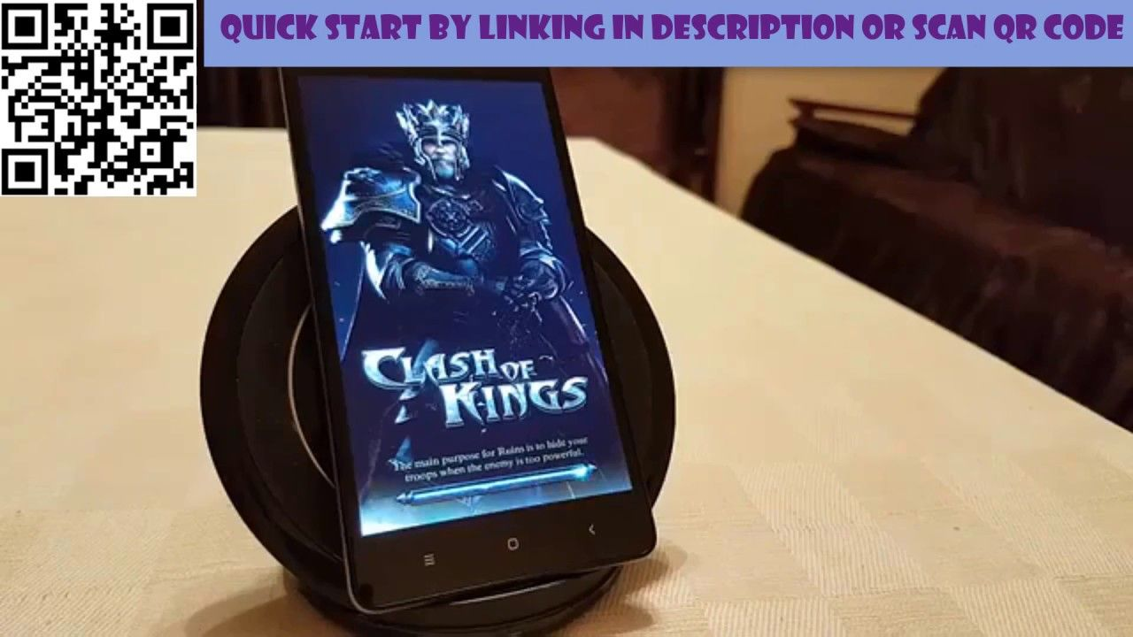 Clash of Kings Hack 2018 – Get Free Gold ( iOS/Android )- No