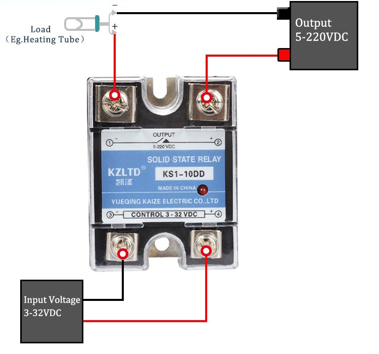 how to wire a 240v solid state relay  google search  relay