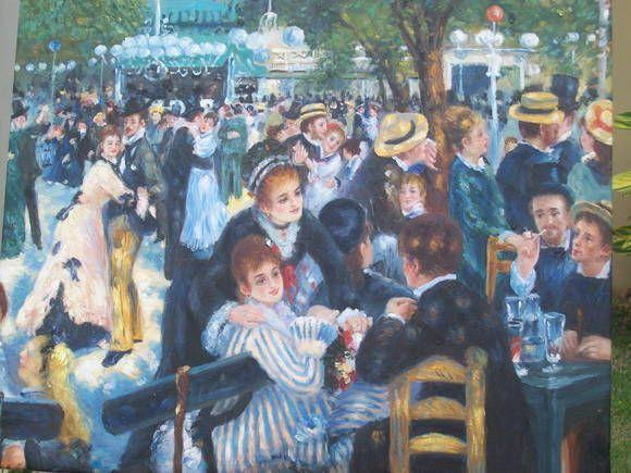 Baile No Moulin De La Galette Pierre Auguste Renoir Renoir