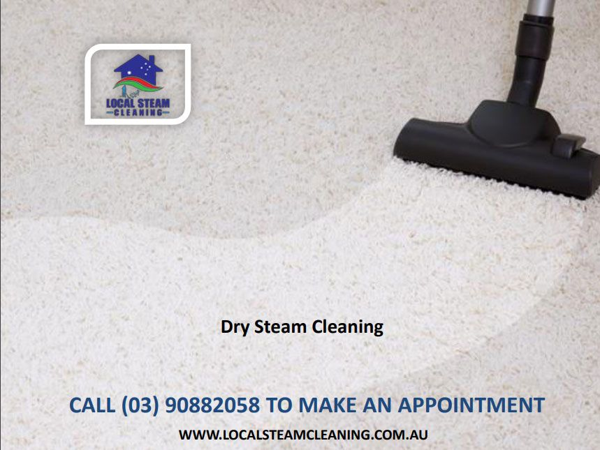 Dry Steam Cleaning Steam cleaning services, Cleaning