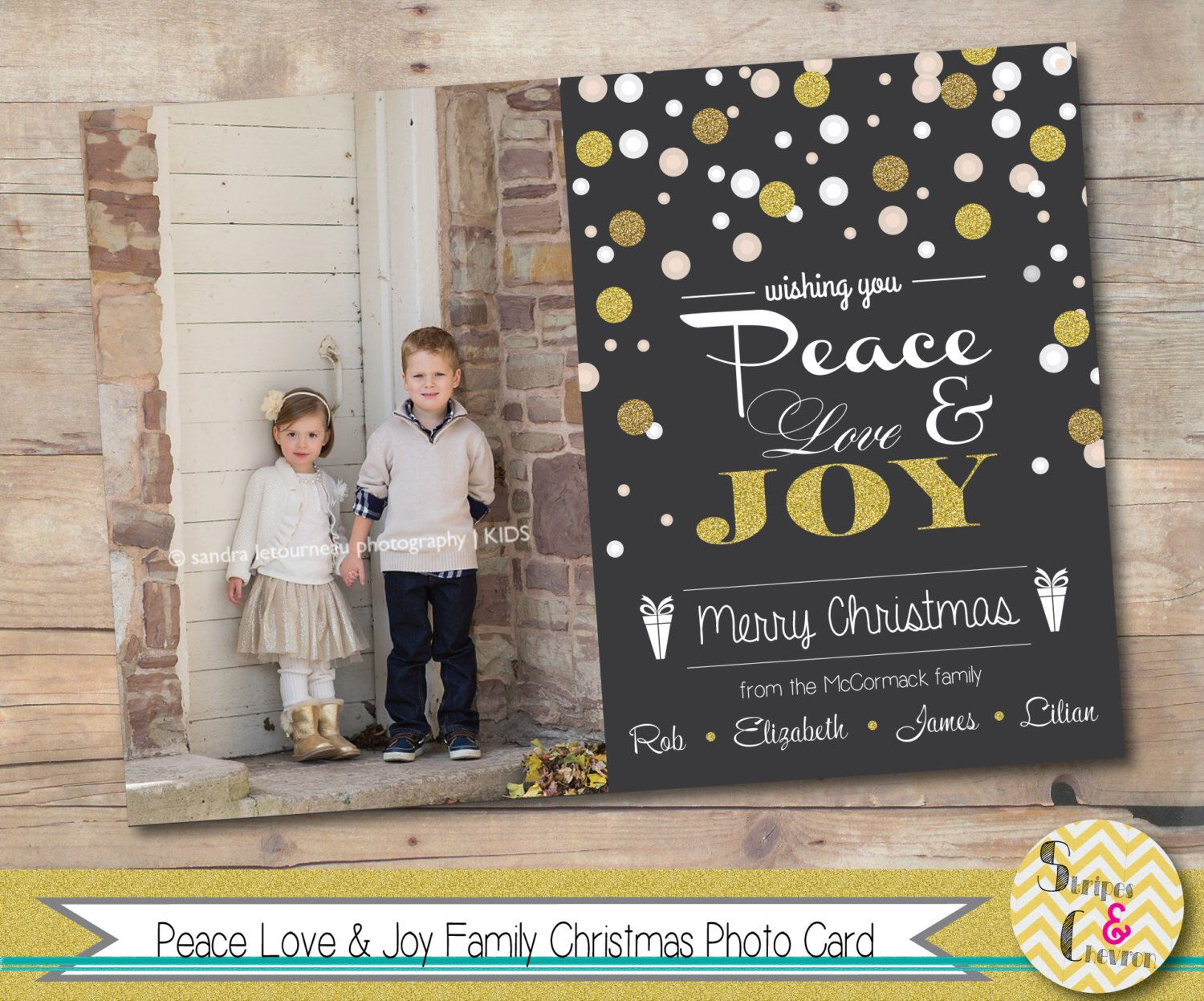 christian personalized christmas cards