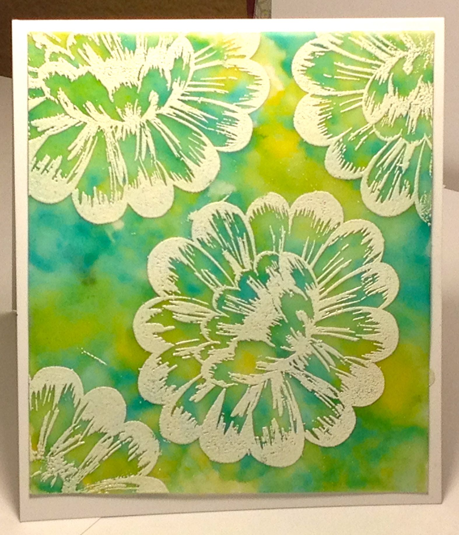 Alcohol ink on vellum