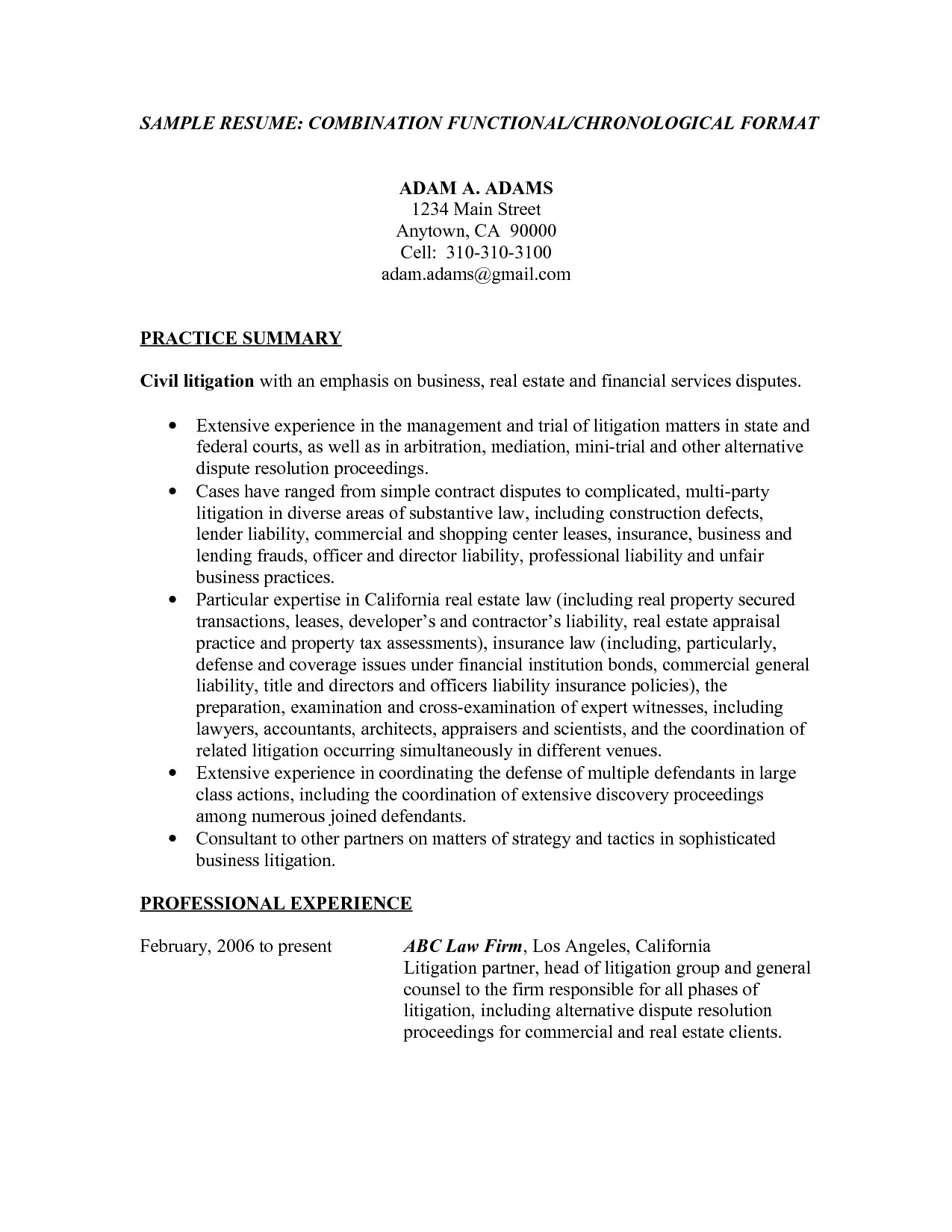 A Resume Title Examples | Resume Examples | Pinterest | Resume ...