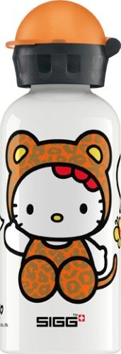 sigg trinkflasche hello kitty leopard 0 4 l mytoys kita schule pinterest hello kitty. Black Bedroom Furniture Sets. Home Design Ideas
