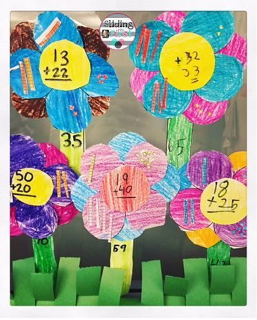 Spring Art Projects!, flower craft, spring, 1st grade, sliding - double first