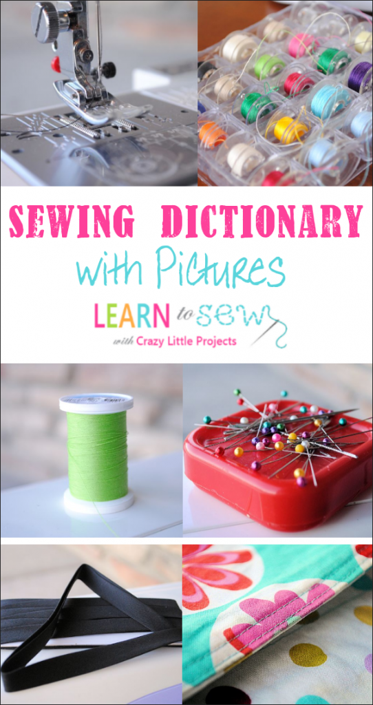 Understanding Sewing Terms for Beginners-A Sewing Dictionary