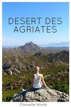 Le désert des Agriates, coté terre !