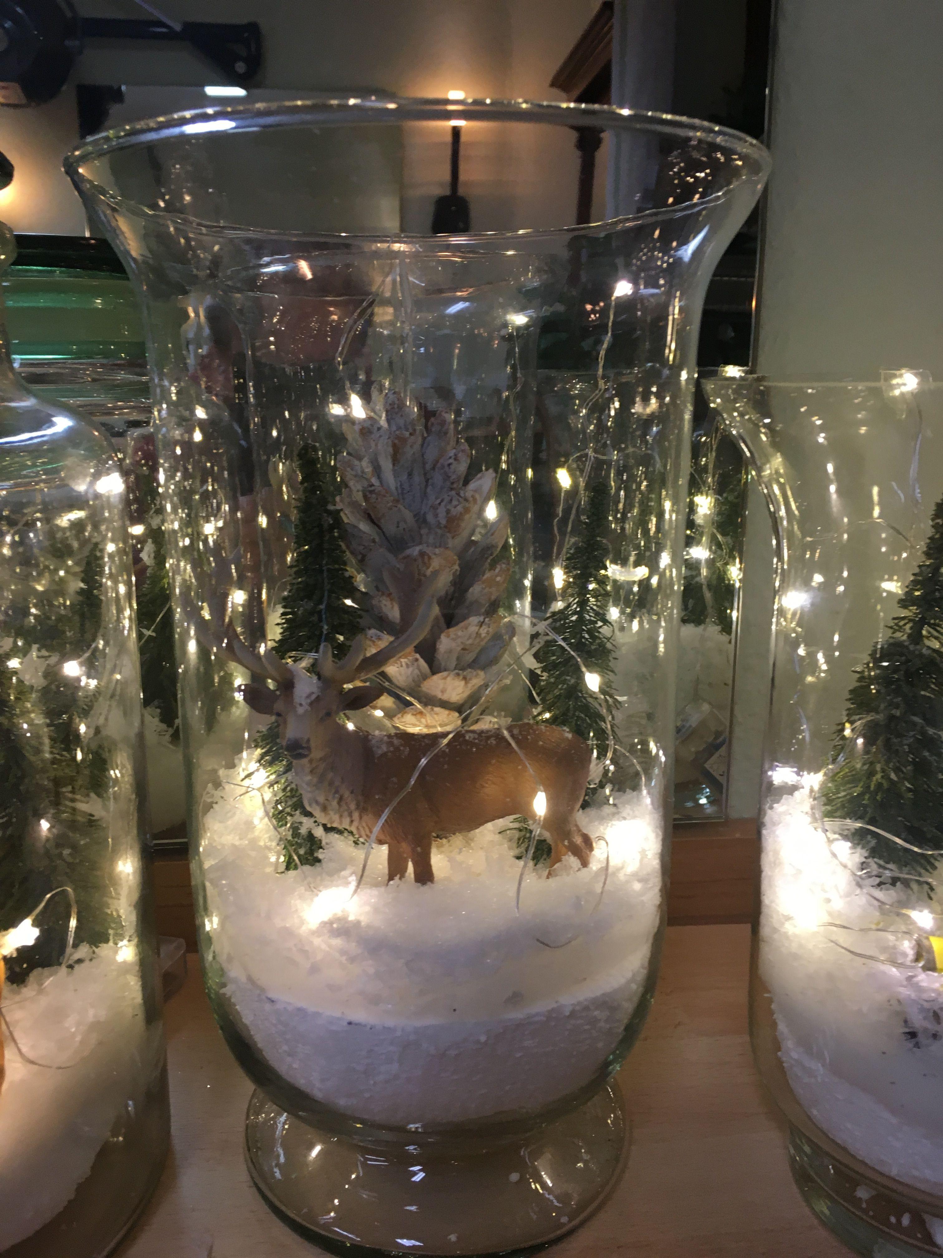 Weihnachtsdeko glas