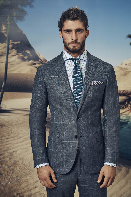 d3a677f5cce3d Lauderdale charcoal suit  Birot green shirt  Valtorta green tie  Amaiata  indigo pocketchief