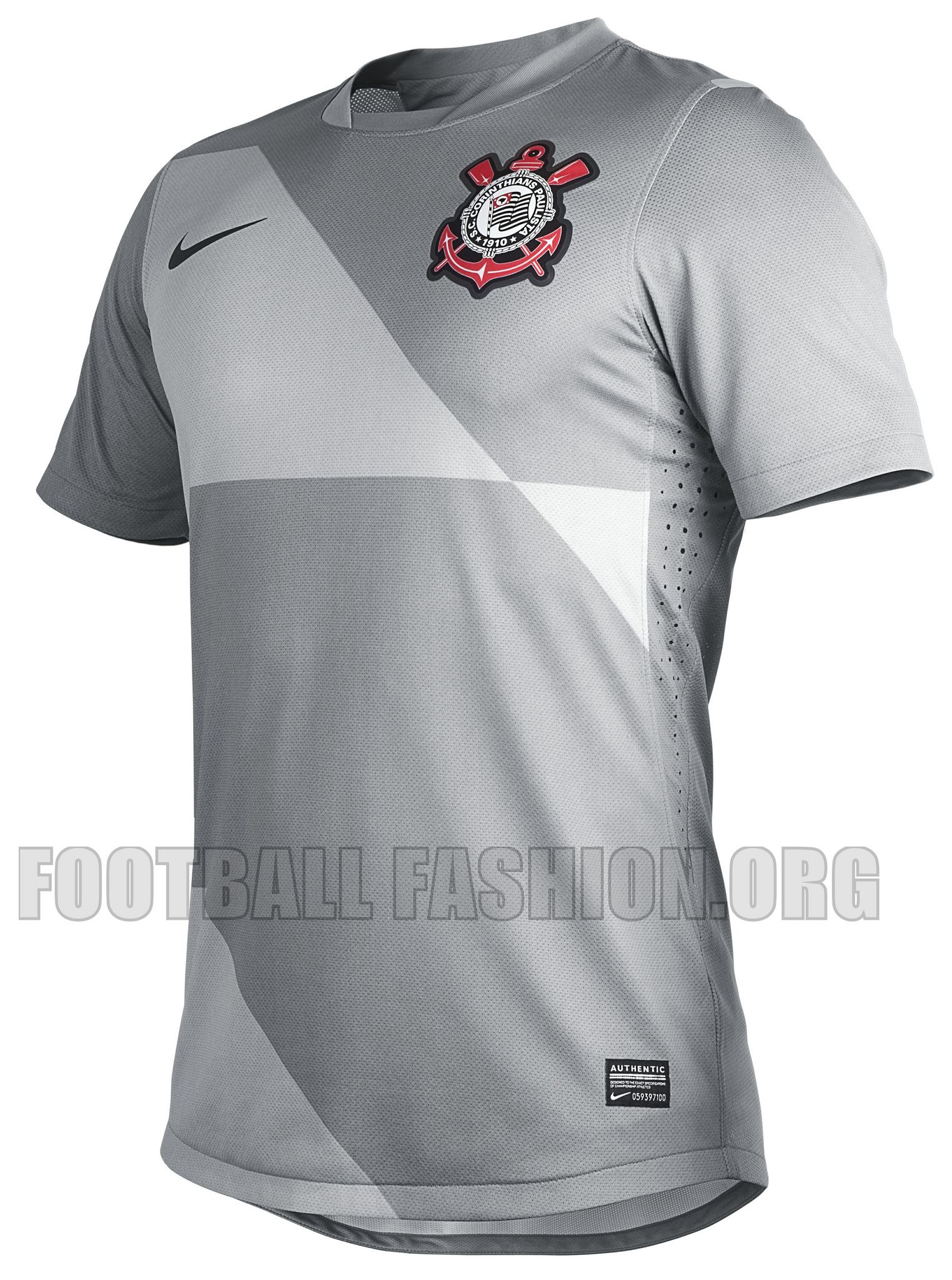 Corinthians Paulista Nike 2012 Third Jersey  209f73dc4