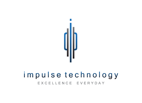 Impulse technology logo design technology logo design for Design teich