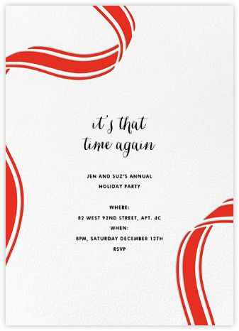 Holiday invitations online and paper paperless post holiday invitations online and paper paperless post stopboris Images