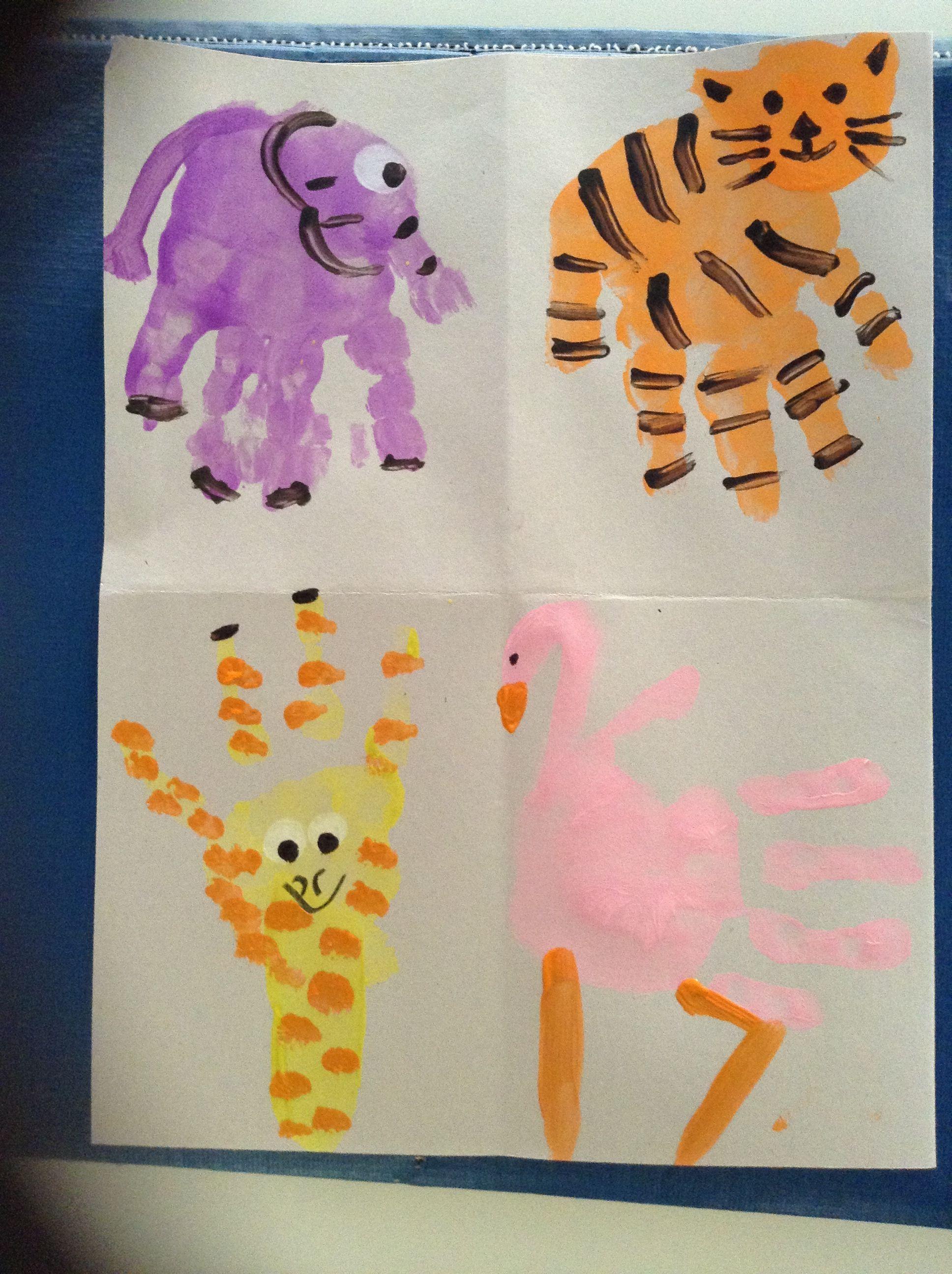 Zoo Animal Art Field Trips