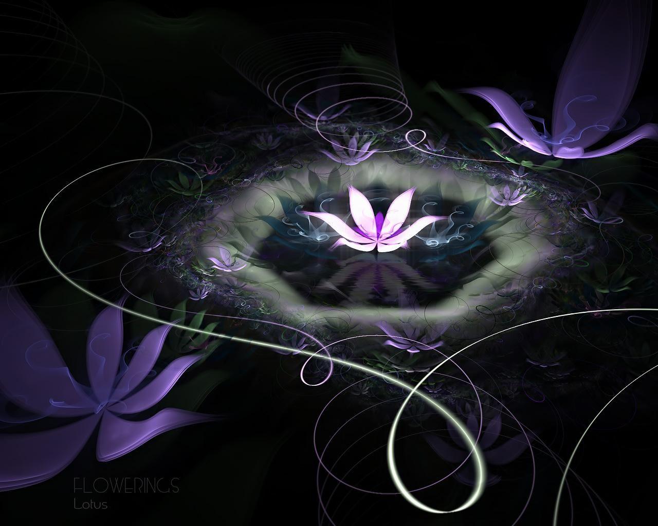Lotus Flower Photos Free Free Download Hd Abstract Lotus Flower 1280x1024 Download Free Lotus Flower Wallpaper Fractal Art Flower Wallpaper