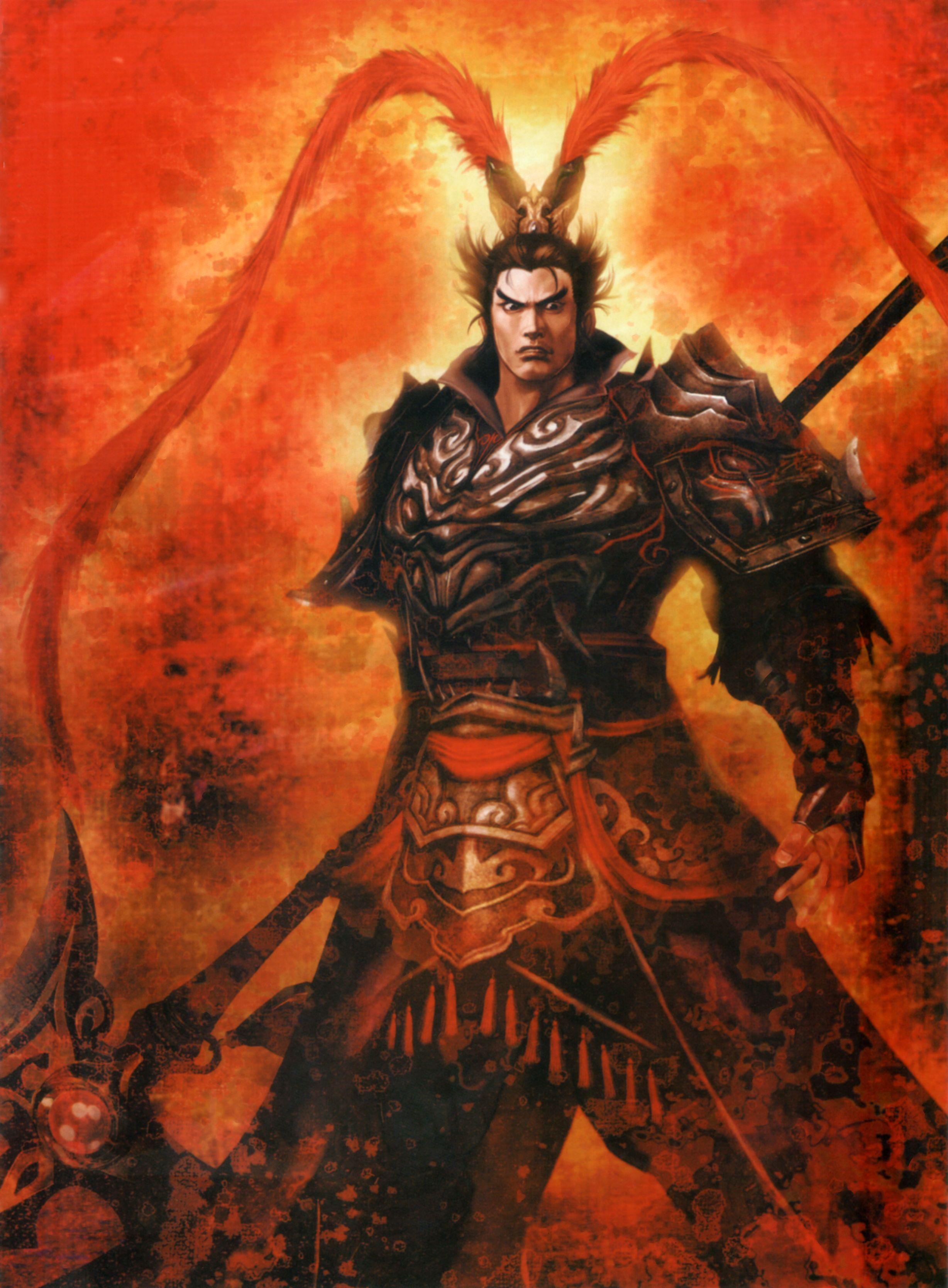 dynasty warriors 8 lu bu gaming pinterest dynasty warriors