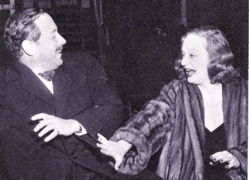 Tallulah Bankhead And Tennessee Williams Tennessee Williams Tallulah Bankhead Classic Hollywood