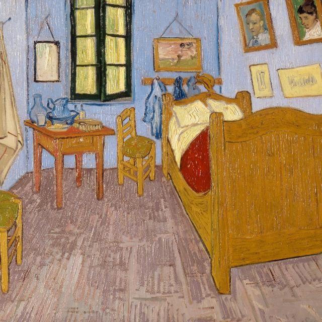 Van Gogh Bedroom In Arles: The Bedroom In Arles (1889) Vincent Van Gogh