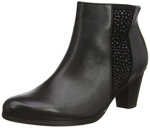 Comfort Fashion, Bottes Femme, Noir (57 Schwarz Micro), 40.5 EUGabor