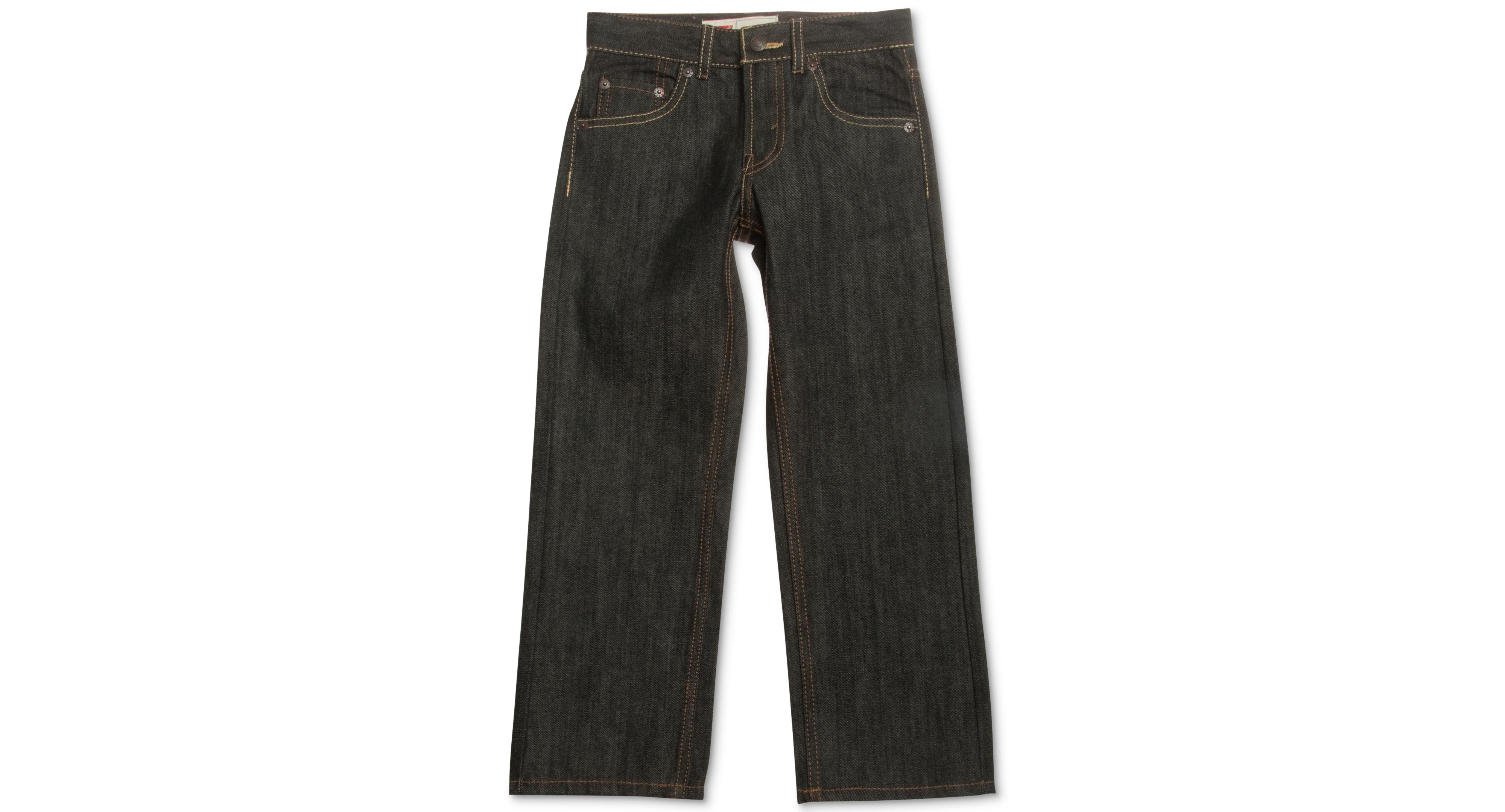 Levi's Boys' 505 Rigid Straight Fit Jeans