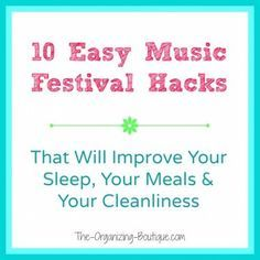 Photo of Camping Hacks That Rock At A Music Festival