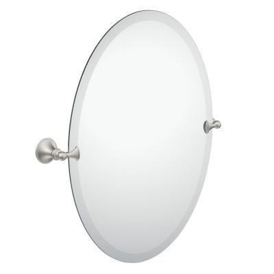 Moen Glenshire 26 In X 22 In Frameless Pivoting Wall Mirror In