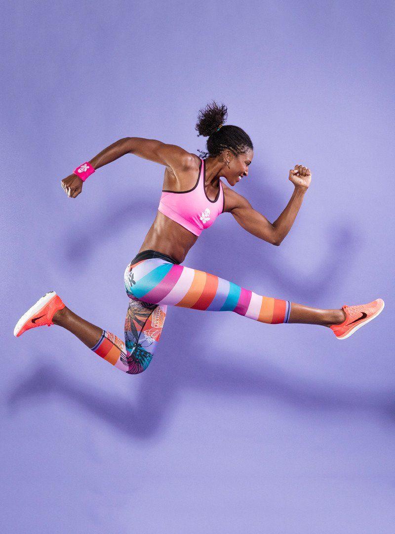 Fly Capri Women Fitness Photography Betty Design Yoga Sports Bra