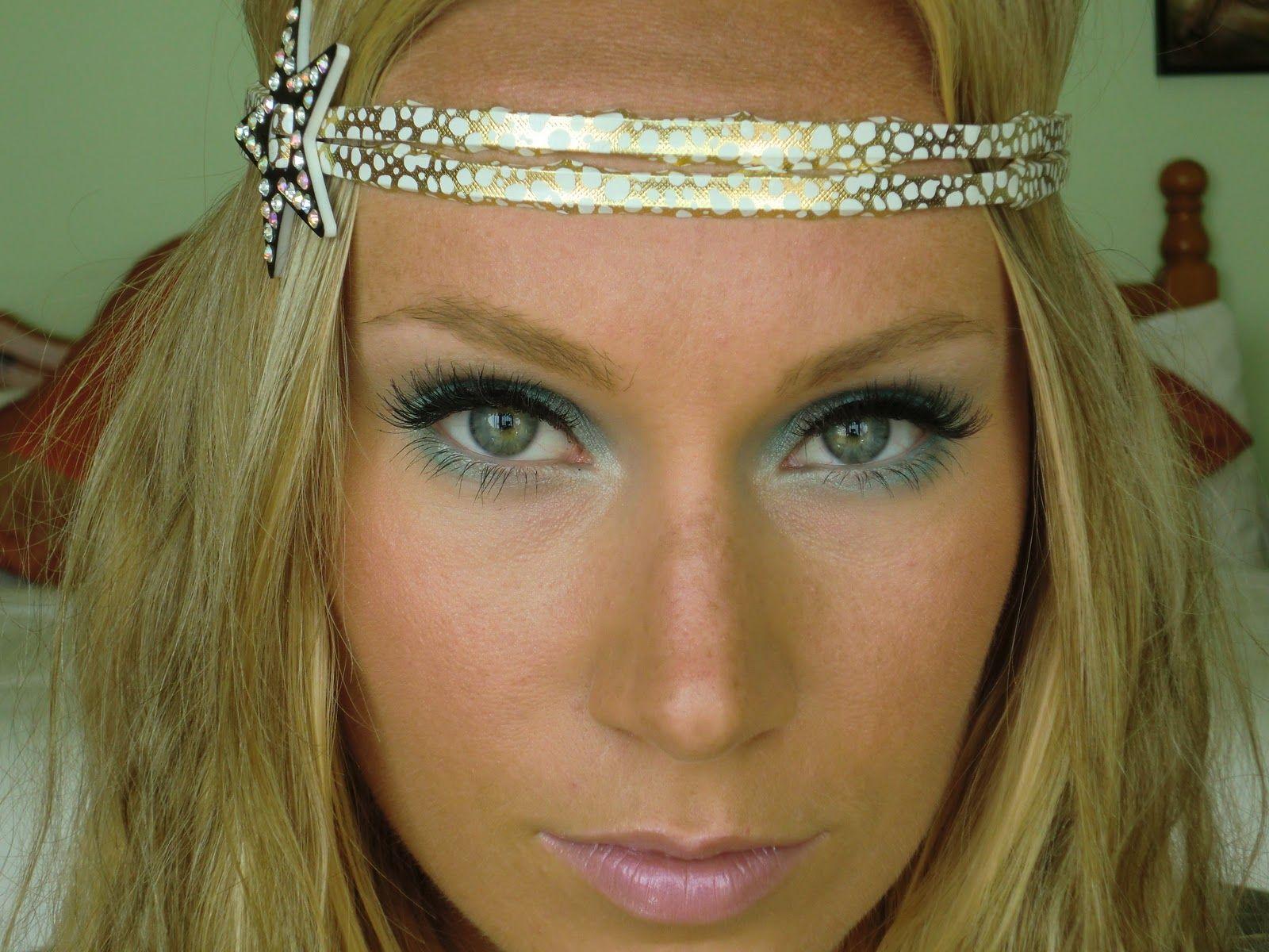 Hippie Makeup | LizYArtur & CharmedElegance: Hippie Halloween Make ...
