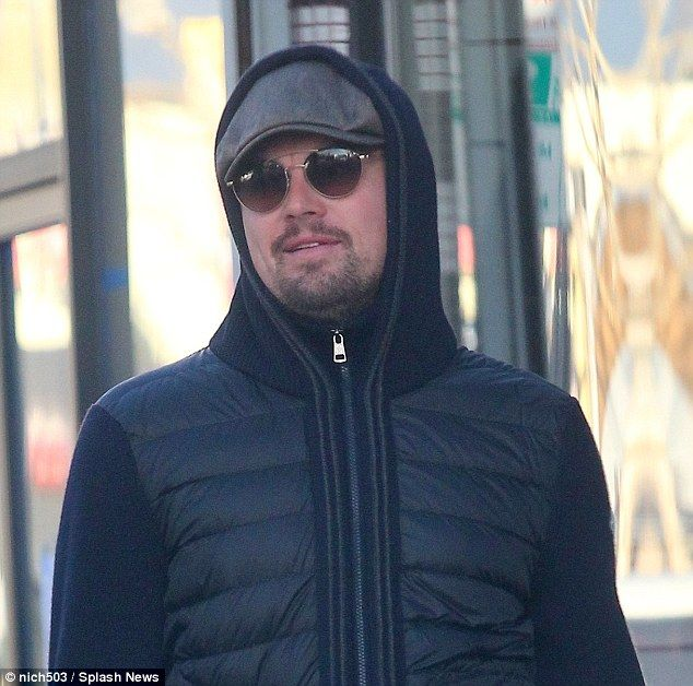 Trendsetter: His hood up, glasses on, goatee out look seems to have inspired one of his bu...