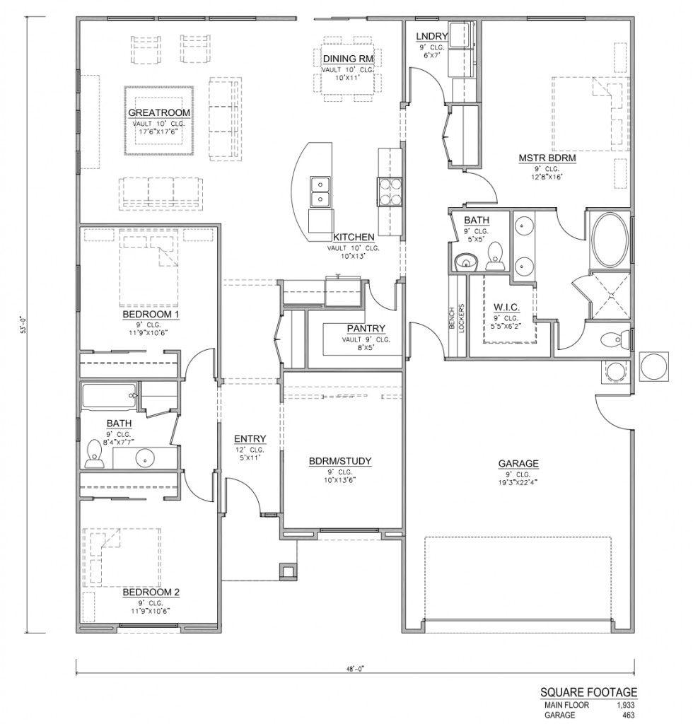 Redwood Floor Plans Home Designs Floor Plans Pinterest