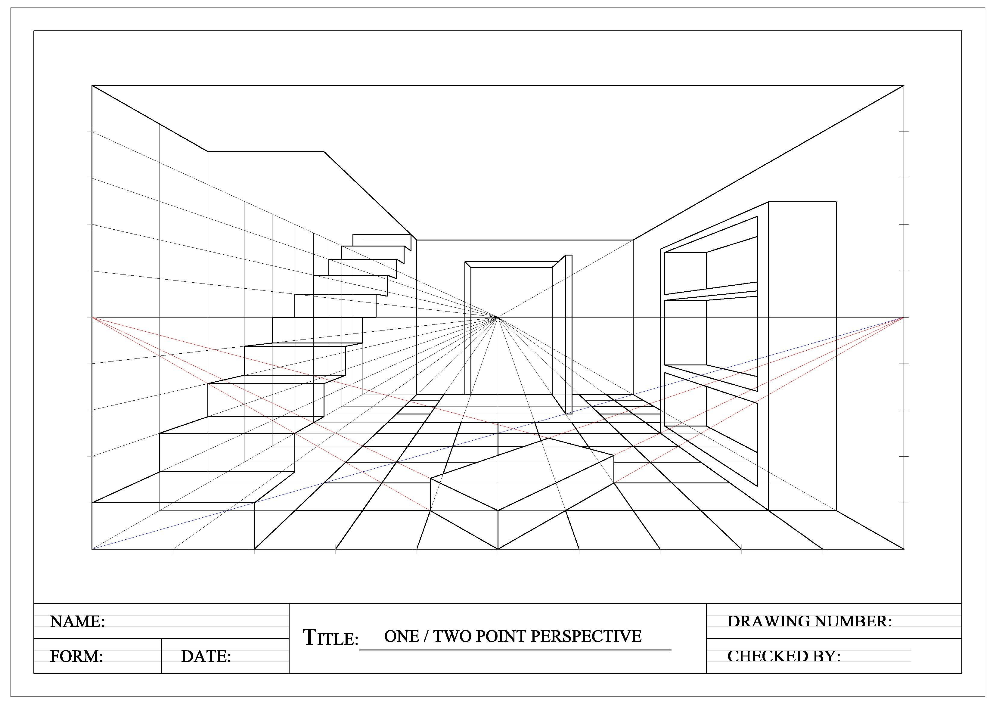 Perspective | Perspective Drawings « Graphical Communication | Get ...